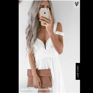 Lulu's ocean of elegance dress